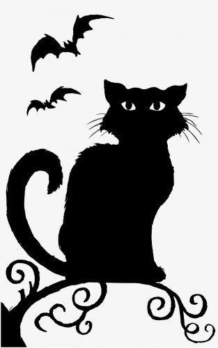 Deco: Cat Window Silhouette
