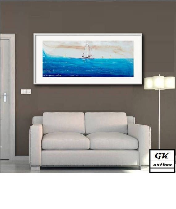 Blue heaven by gkartbox on Etsy