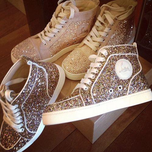 WOW... ♥ #glitters #sneakers #cute