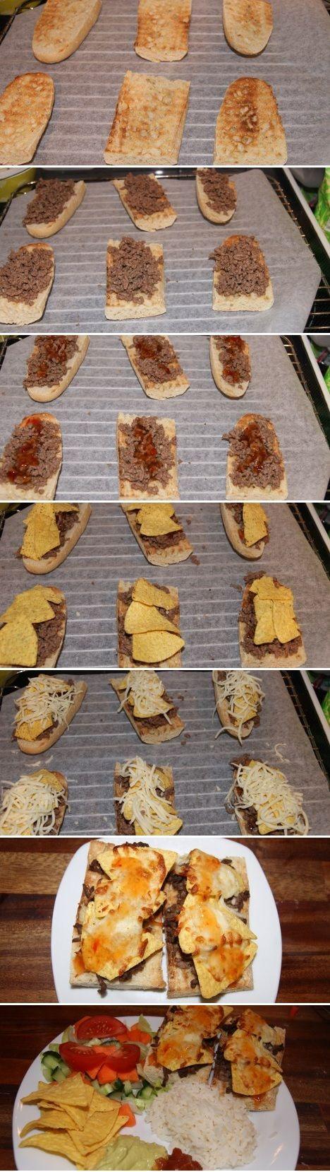 mexicanske br d med oksek d og nachos recipe mad snacks and brunch. Black Bedroom Furniture Sets. Home Design Ideas