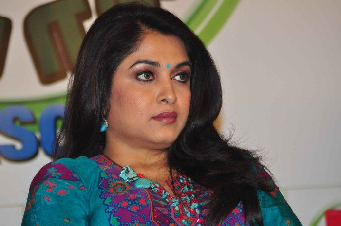 After Baahubali actress Ramya Krishnan selects strong roles and now plays a politician character in Telugu movie. #MoviesUpdates #ChennaiUngalKaiyil.