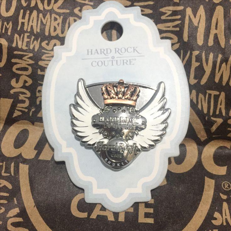 Hard Rock Pin THAILAND Phuket Couture 3D Rock Couture Crown Pin 2015