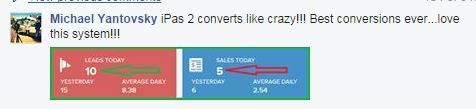 """""""iPAS 2 converts like crazy!!! Best conversions ever... love this system!!!"""" ~Michael Yantovsky  Learn more here: http://isuccessformula.com/pre/adam/?id=andreapetoskey&tid=pinterest"""