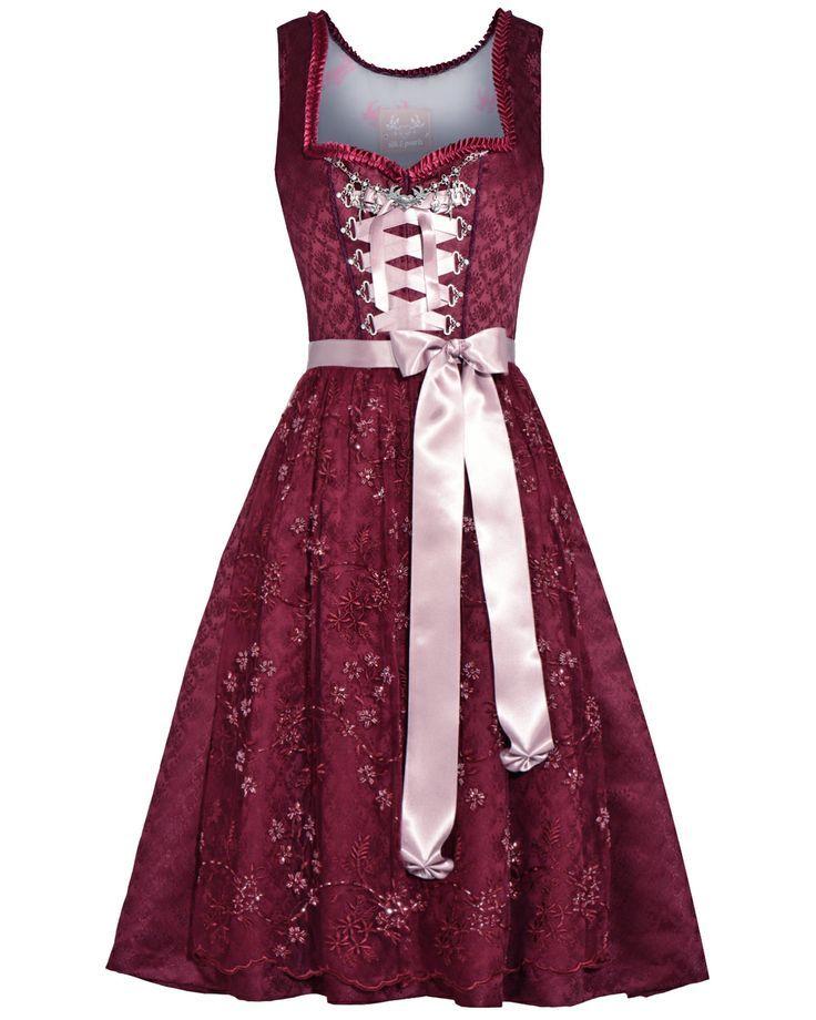 LODENFREY | SILK & PEARLS Dirndl short with apron … – #dirndl #kurz #LODENFREY #mit #pearls