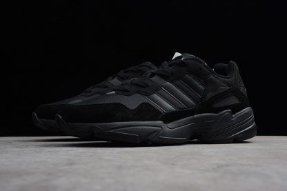 best sneakers ab662 c3bf0 adidas Yung-96 Triple Black For Men and Women-2