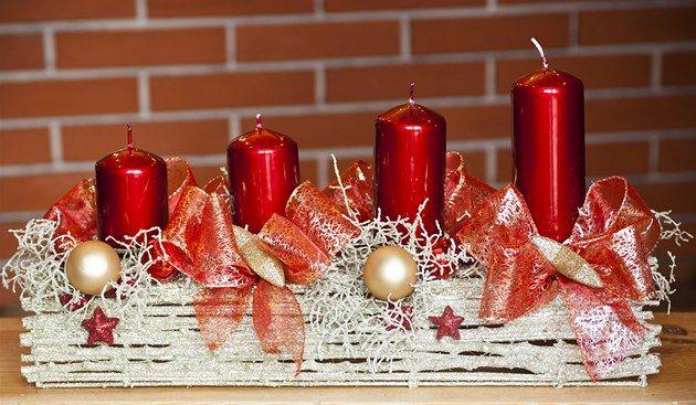 Fotogalerie: Vánoční věnec na dveře