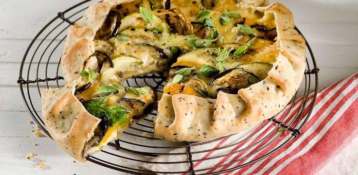 La Salteña | Recetas | Tarta de Vegetales y Semillas