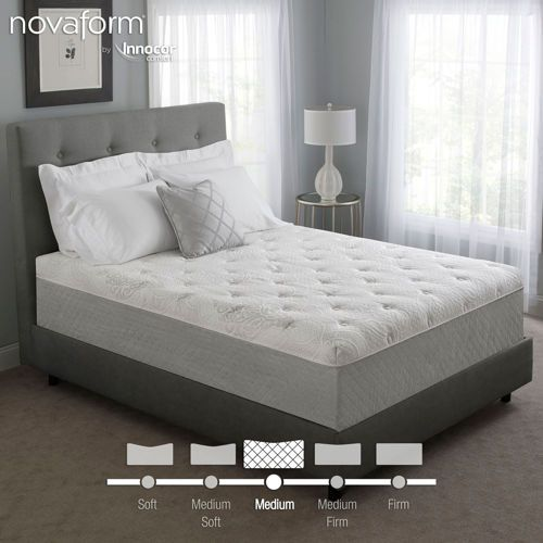 Novaform 14 Quot Serafina Pearl Gel Queen Memory Foam Mattress