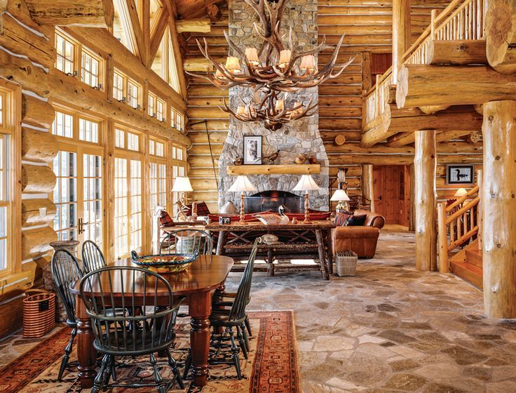 17 Log Home Design Ideas For Every Room