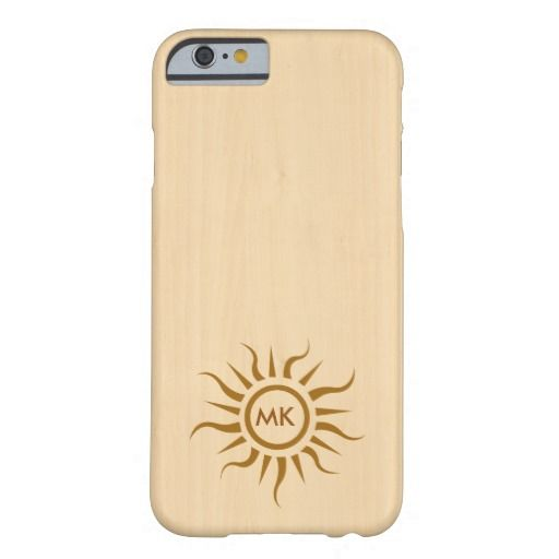 Woody tribal tattoo initials iPhone 6 case Barely There