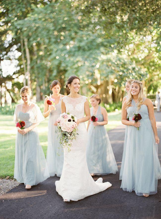Powder Blue + Pink Sarasota Wedding at Ringling Museum
