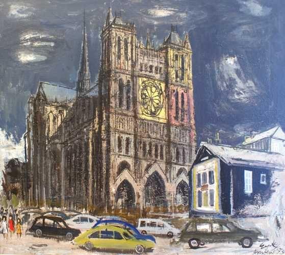 Notre Dame van Amiens; Charles Eyck