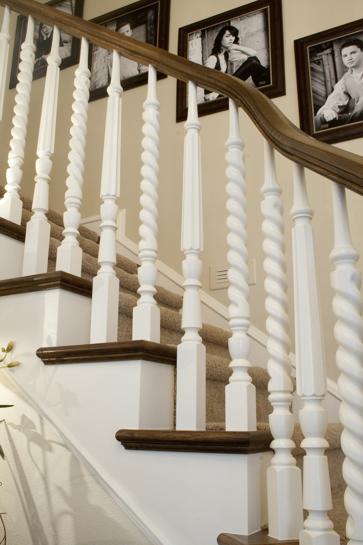 This Reminds Me Of My Plan For Our Staircase In Current Homenever Got The Builder Or Hubby To Buy Into Clever Idea