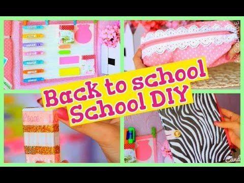 Back to school/ School DIY/ Канцелярия своими руками