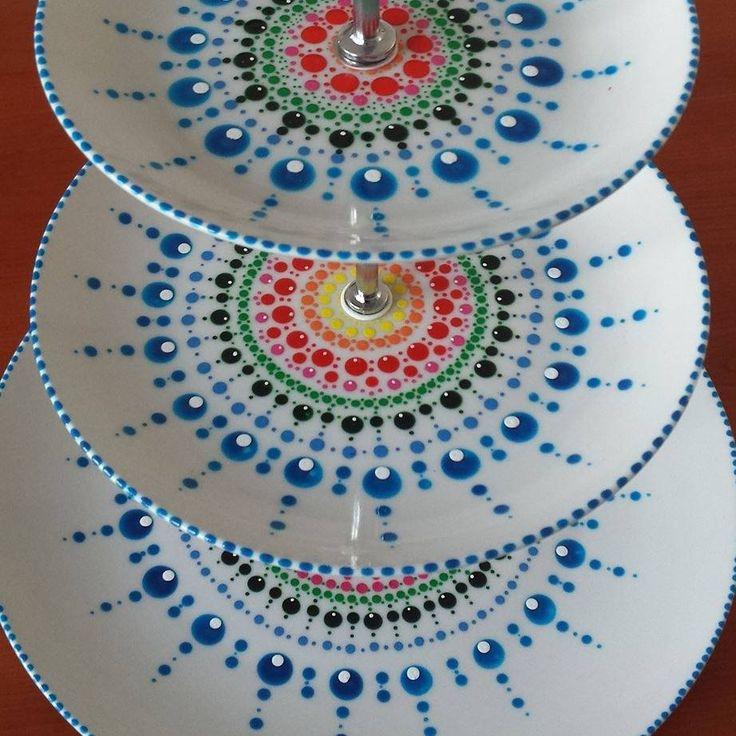 Dip & Dot: etagère pattern