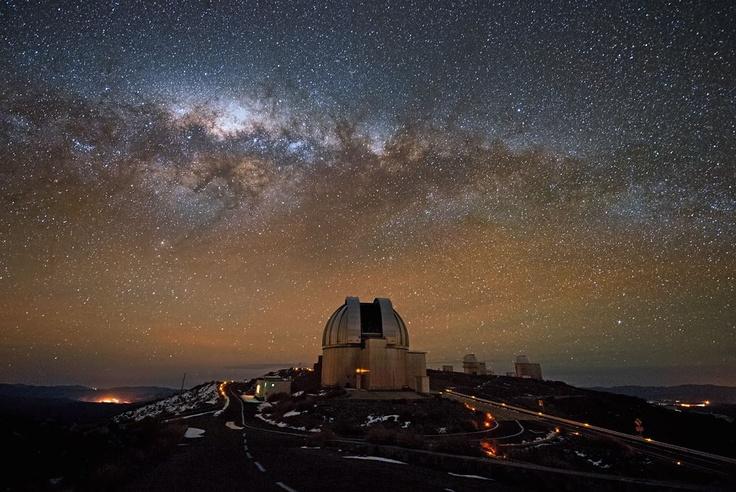 Cielos de chile , Observatorio ESO