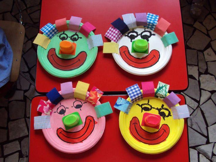 idée pour une tête de clown