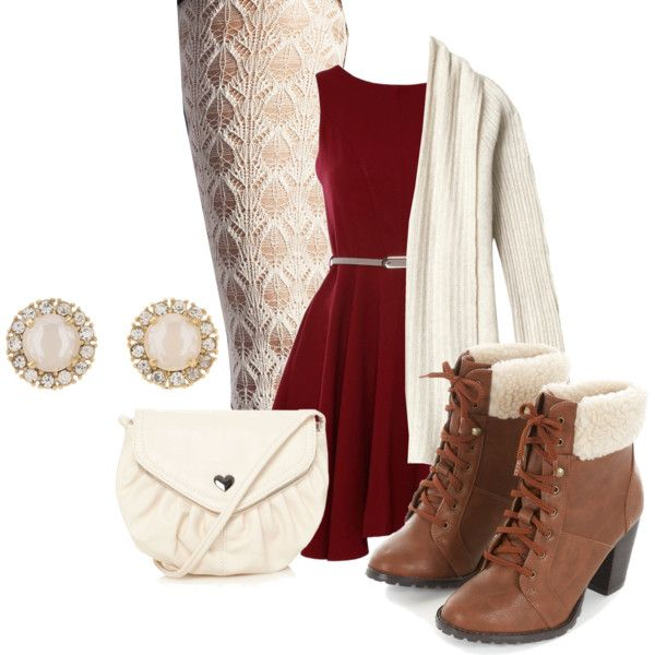 """""""Cute Christmas Outfit"""" by emmabubble on Polyvore"""