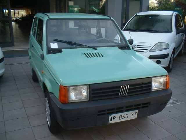 Fiat Panda a 1.250 Euro City car 71.000 km Benzina