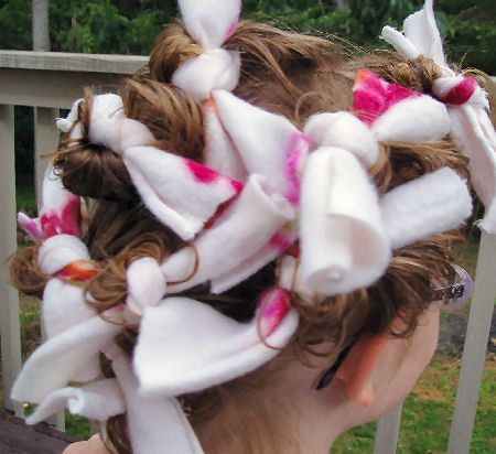 How to Curl Your Hair with Easy and Fast Homemade Hair Curlers