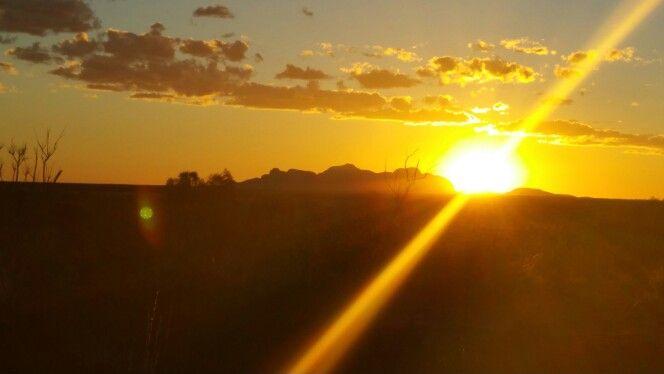 Sunset- The Olgas