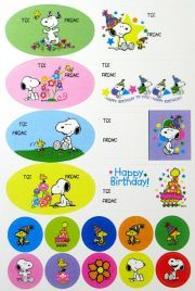 Snoopy Gift Tags