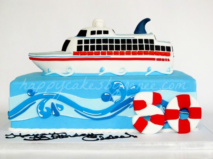 How To Make Cruise Ship Cake Topper