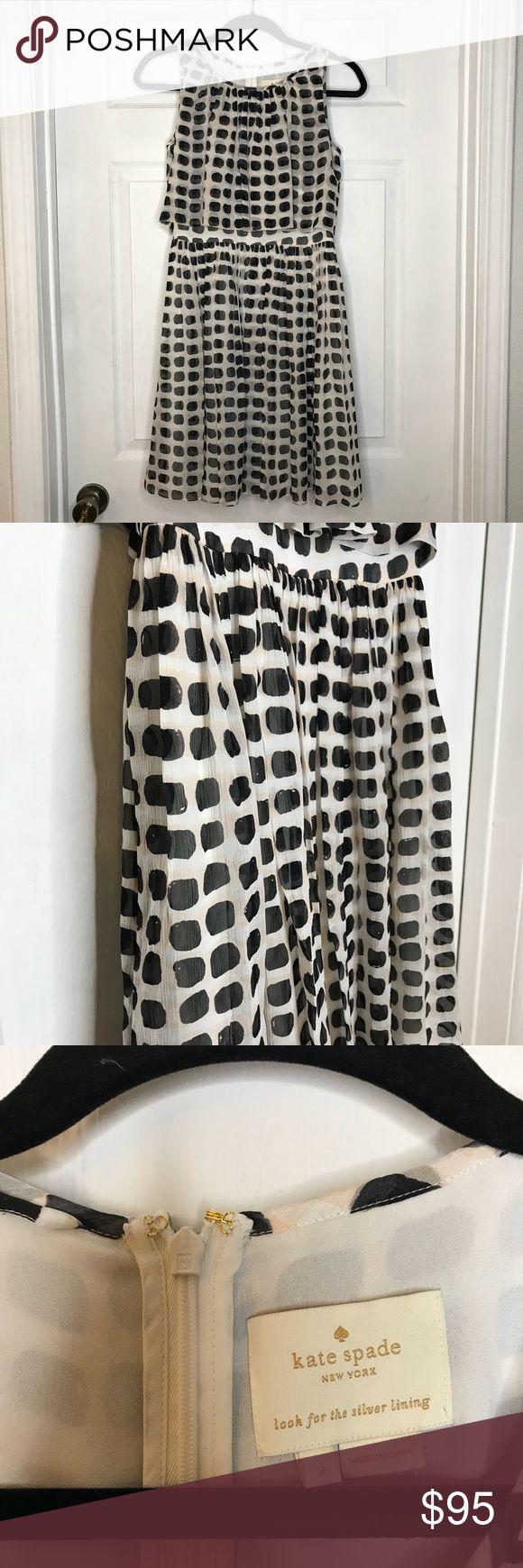 $490 Kate spade Island Stamp Chifon dress 100% authentic Kate Spade Island Stamp Chifon Dress || size 2 || brand new || dress only || original tag still on || msrp $448 + tax kate spade Dresses Mini