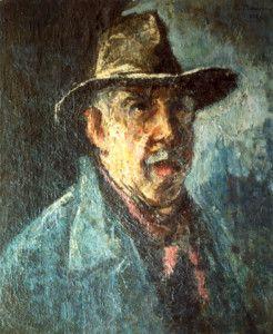 Gheorghe Petrascu - Autoportret