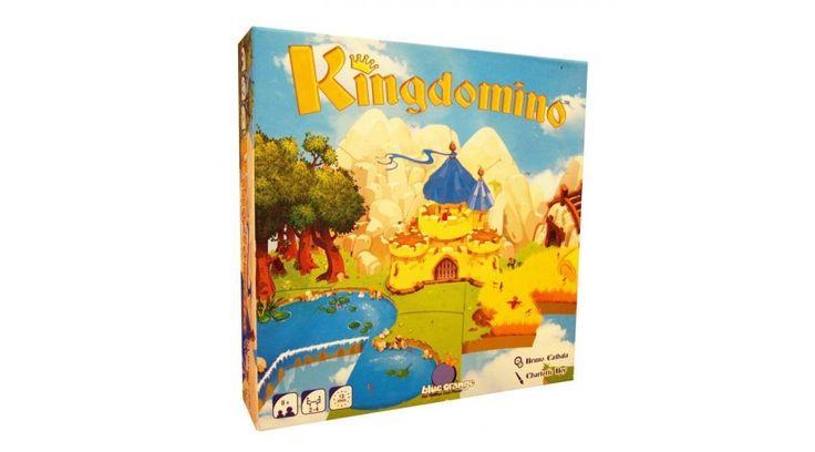 Kingdomino - FIÚ játékok - Fejlesztő játékok az Okosodjvelünk webáruházban