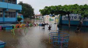 Se compromete Gobierno de Oaxaca a brindar atención a todas las escuelas dañadas por la temporada