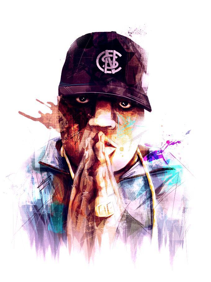 Notorious BIG portrait | BruteBeats, Your Visual Radio Hip-Hop Experience | www.brutebeats.com | #beats #brutebeats #hiphop