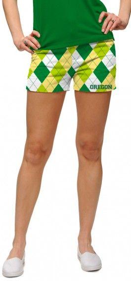 Oregon Ducks Women's Mini Short MTO