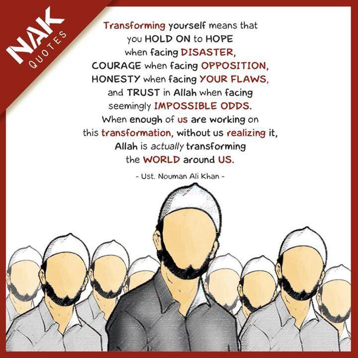 Nouman Ali Khan's quote
