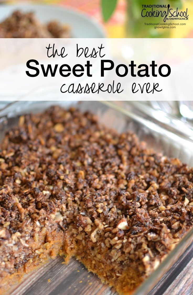 The Best Sweet Potato Casserole Ever | It hasn't won any awards or a blue ribbon at the State Fair, but I can tell you that I never liked sweet…