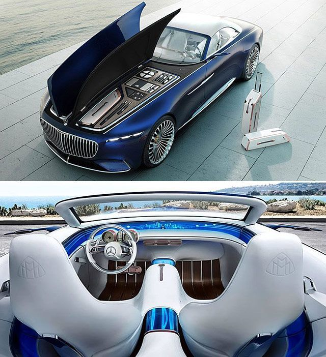 Revelation Of Ultimate Luxury: Vision #Mercedes #Maybach 6