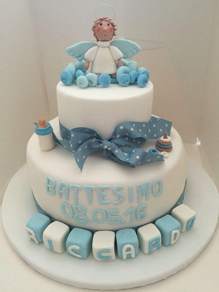 Blue angel cake!