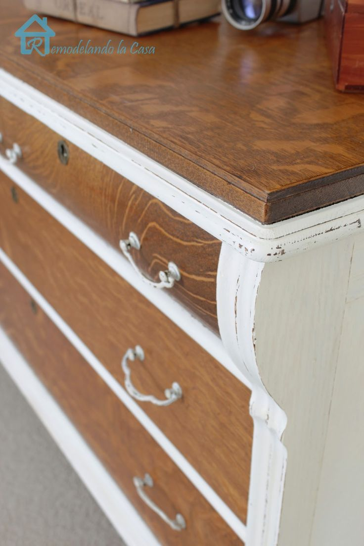 Two Tone Painting The 25 Best Two Toned Dresser Ideas On Pinterest Two Tone