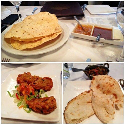 Restaurant Taj Mahal - entrées et pakora -indian appetizers
