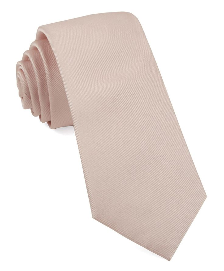 Pocket Square - Woven Jacquard silk in solid peach colour Notch
