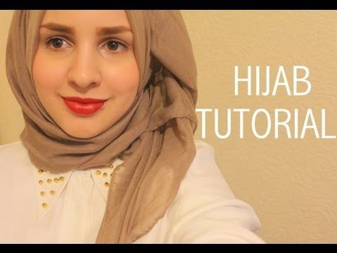 Hijab tutorial (show off your collar/necklace) | Safiyahhhh - YouTube