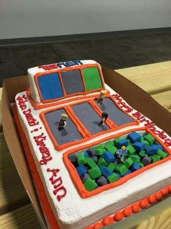 Rush - Indoor Trampoline Park, Claremont Picture: Rush Birthday Cake - Check out TripAdvisor members' 578 candid photos and videos of Rush - Indoor Trampoline Park