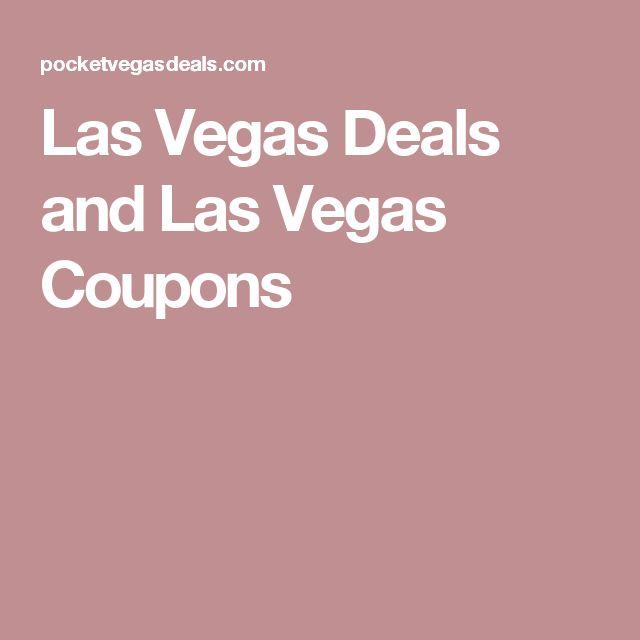 Las Vegas Deals and Las Vegas Coupons