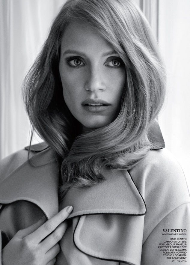 Jessica Chastain by Giampaolo Sgura for InStyle Magazine