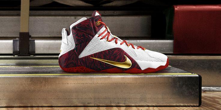 "Nike iD LeBron 12 ""Hometown Heros"" Collection"