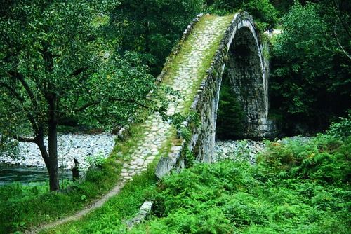 Ancient Stone Bridge, Rize, Turkey   - Explore the World with Travel Nerd Nici, one Country at a Time. http://TravelNerdNici.com