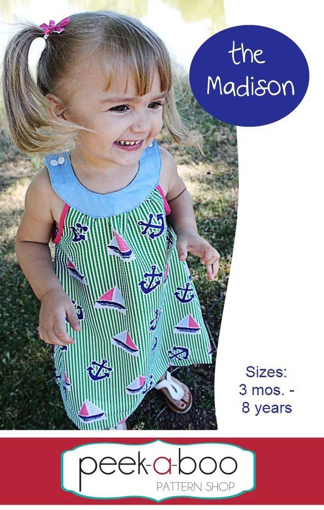 Peek-a-Boo Pattern Shop - Madison Dress, $7.95 (http://www.peekaboopatternshop.com/madison-dress/)