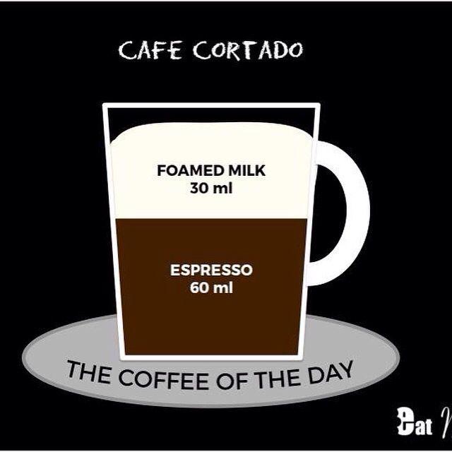 ☕️! - Coffee of the Week - !☕️Today's Cocktail: Café Cortado