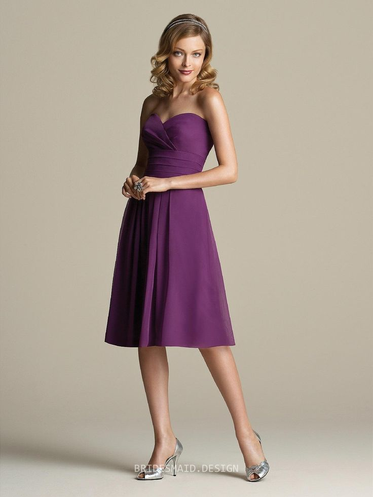 48 best SHORT BRIDESMAID GOWNS images on Pinterest | Bridesmaid ...