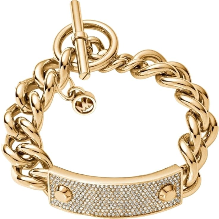 Michael Kors Armband Gold MKJ3543710 mit Steinen Armreif Bracelet